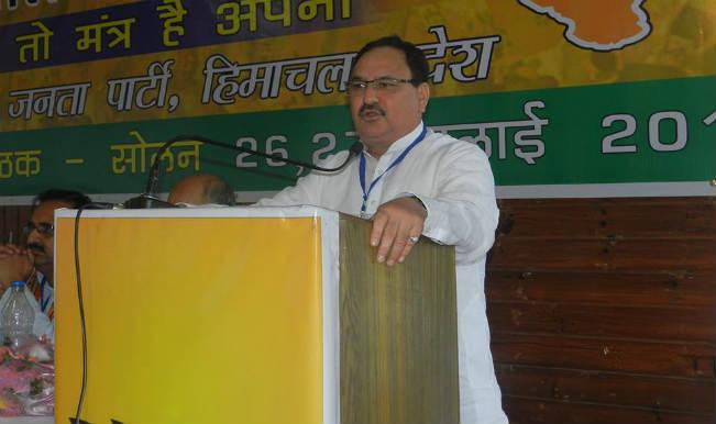 Jagat Prakash Nadda: AIIMS doctors help formulate sterilisation norms