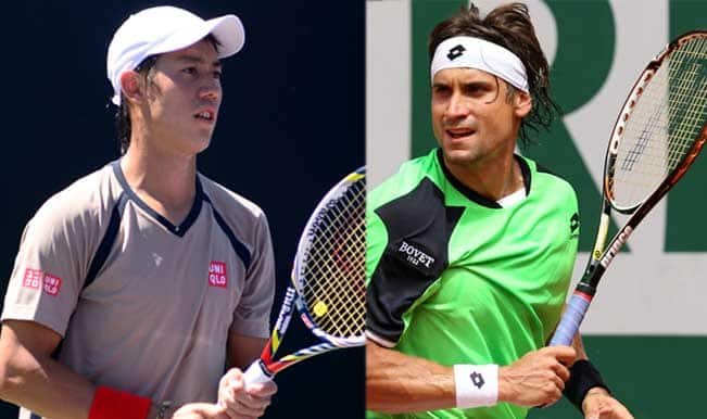 Kei Nishikori vs David Ferrer Live Streaming: Get Live Telecast of ATP World Tour Finals 2014 on Day 5