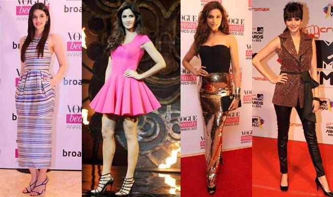Deepika Padukone, Anushka Sharma, Katrina Kaif, Kriti ...