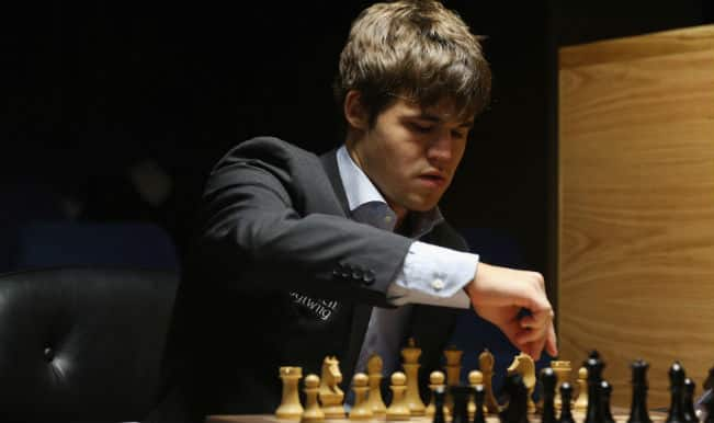 Magnus Carlsen retains world chess title; beats Viswanathan Anand in 11th round