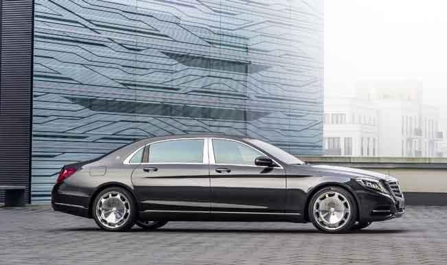 Mercedes-Maybach S600 showcased at LA Motor Show