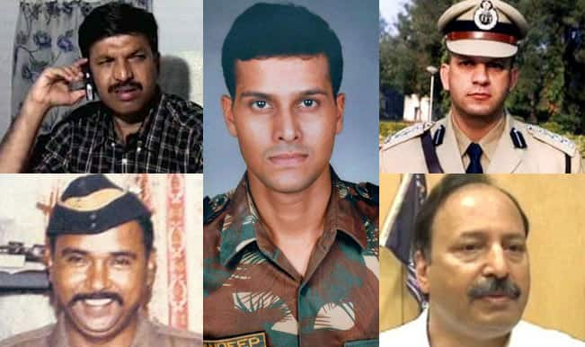 26/11 Attacks Anniversary: Tribute to 5 Brave Heroes Who Lost Their Lives on The Tragic Day