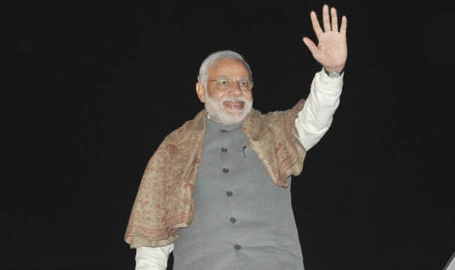 Narendra Modi returns after Nepal visit
