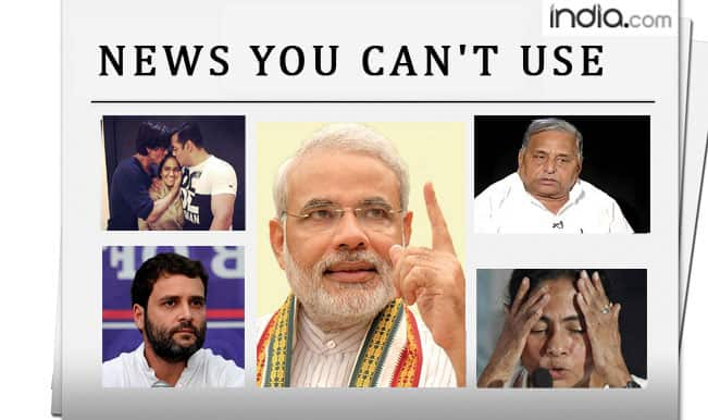News You Can't Use: Salman Khan's sister's wedding, Mulayam Singh's laptop woes and Narendra Modi the NRI!