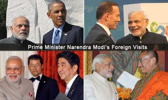Narendra Modi government completes six month: Foreign policy, diplomatic ties get the midas Modi touch