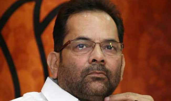 Mukhtar Abbas Naqvi, Muslim face of BJP, stages a comeback