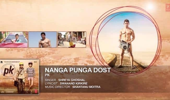 PK song Nanga Punga Dost: Aamir Khan is the Tinga Tinga Naked Friend! Listen to full audio