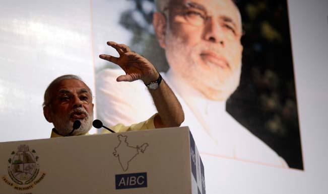 Narendra Modi greets V.R. Krishna Iyer on 100th birthday