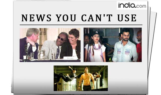 News You Can't Use: Rampal the hostage, Virat Kohli's serious and Ajay Devgn's body