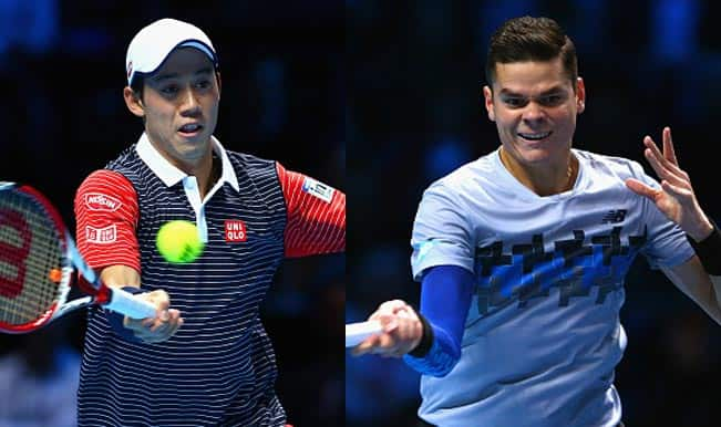 Kei Nishikori vs Milos Raonic Live Streaming: Get Live Telecast of ATP World Tour Finals 2014 on Day 5