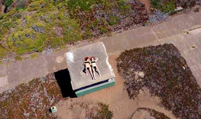 Drone Porn: World's first drone-filmed porn video goes viral! (View pic)