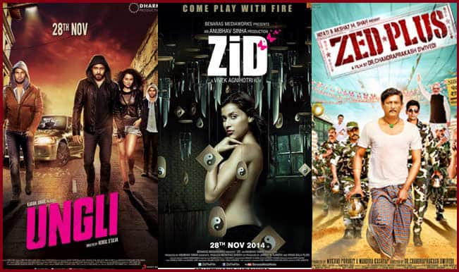 Box Office Report: Ungli and Zid get poor response at the Box Office
