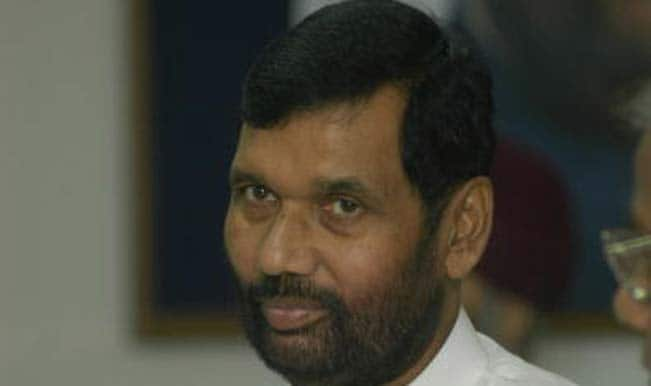 Ram Vilas Paswan : Awaiting states' nod to amend essential commodities act