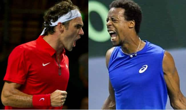Roger Federer vs Gael Monfils Match 2 Live Streaming: Get Live Telecast of France vs Switzerland Davis Cup Final 2014