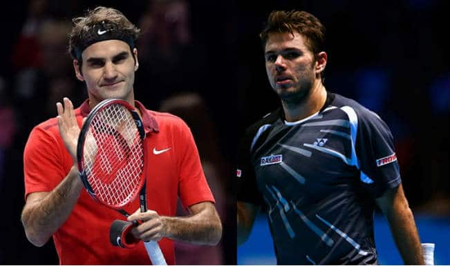 Roger Federer vs Stanislas Wawrinka Semifinals Live Streaming: Get Live Telecast of ATP World Tour Finals 2014 on Day 8