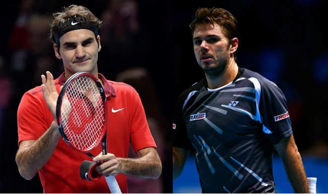 Roger Federer vs Stanislas Wawrinka Semifinals Live Streaming: Get Live Telecast of ATP World Tour Finals 2014 on Day 8