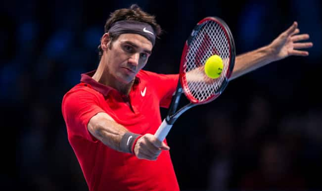 Roger Federer hot shot from ATP World Tour Finals 2014 against Milos Raonic! Watch Video