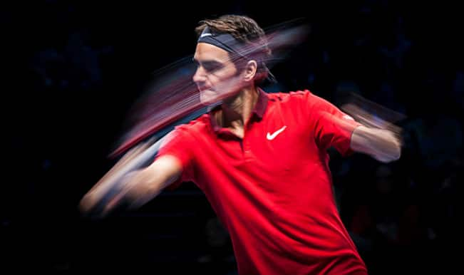 Roger Federer eyes semifinals berth post beating Kei Nishikori in ATP World Tour Finals 2014