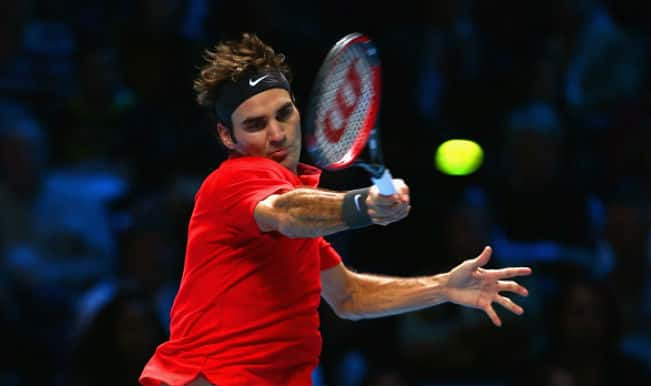 Roger Federer vs Stanislas Wawrinka, ATP World Tour Finals 2014 Live Updates: Roger Federer beats Stanislas Wawrinka in three sets 4-6, 7-5, 7-6