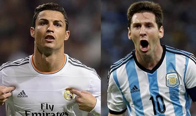 Ronaldo Vs Messi Body