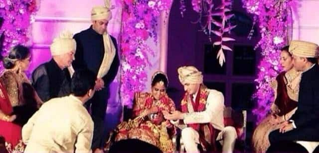 Salman Khan's sister Arpita Khan marries Ayush Sharma: See exclusive pictures!