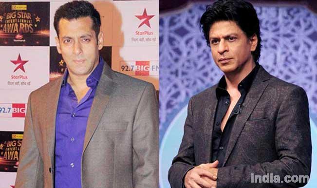 Salman Khan and Shah Rukh Khan in a film together?