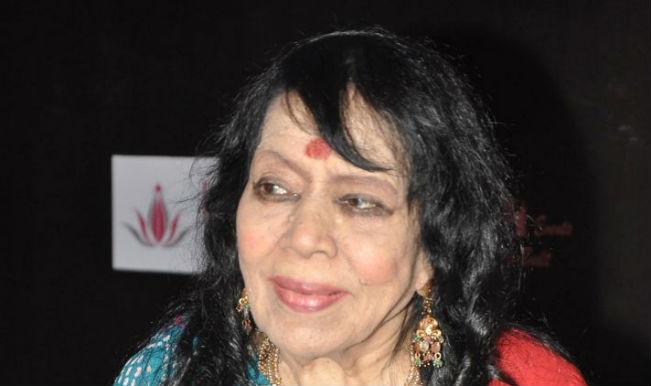 Kathak danseuse Sitara Devi in ICU