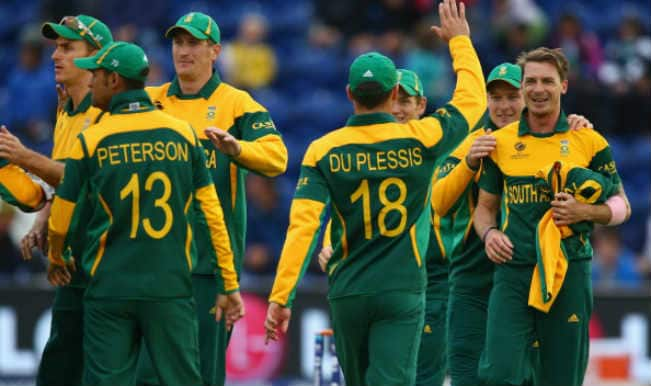 Indian Cricket Team Leaves For South Africa: ICC Cricket World Cup 2015: South Africa Branded With