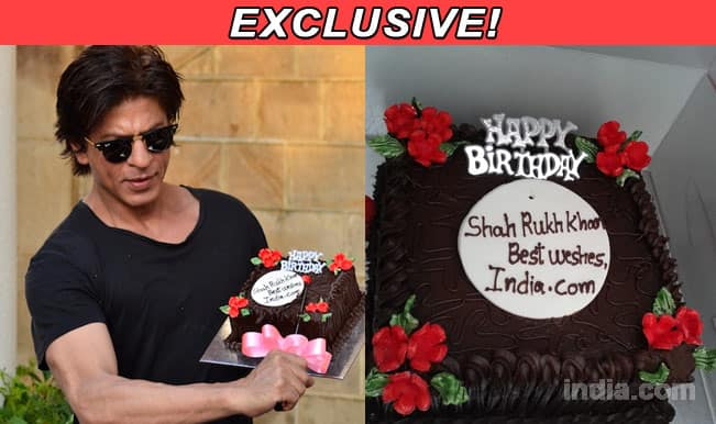 Shah Rukh Khan celebrates birthday with India.com: Exclusive pictures ...