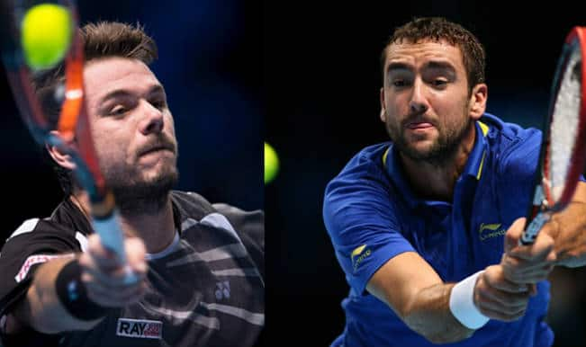 Stanislas Wawrinka vs Marin Cilic Live Streaming: Get Live Telecast of ATP World Tour Finals 2014 on Day 7