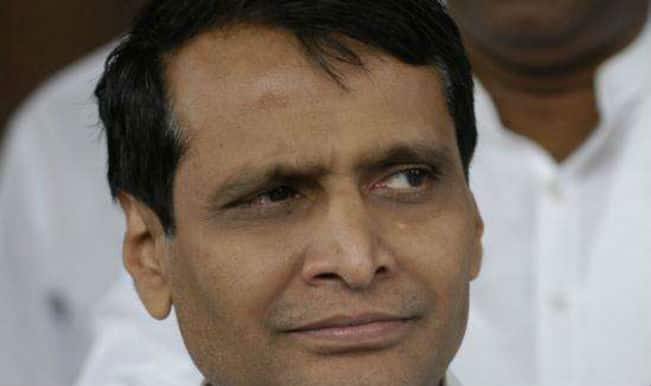 Railway Minister Suresh Prabhu inaugurates projects in Odisha