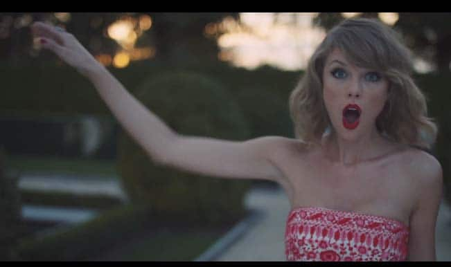 Taylor Swift cries over another lover in her latest music video, Blank Space