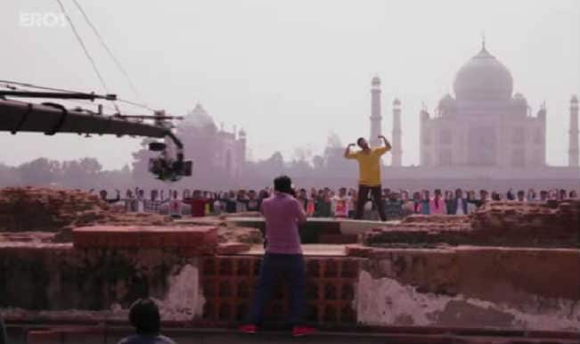 Tevar- Behind the scenes: Arjun Kapoor, the Superman in the making