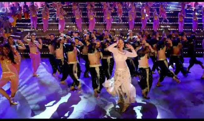 Tevar song Radha Nachegi: Sonakshi Sinha puts on her dancing shoes with some impressive moves!
