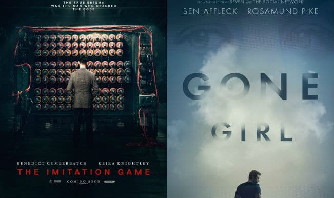 Gone Girl, The Imitation Game rule at Hollywood Film Awards