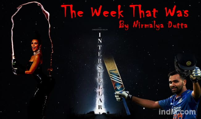 The Week That Was: Kim Kardashian's butt overshadows Interstellar, NaMo at G20 and Rohit Sharma's 264 and AAP's free Wi-Fi!