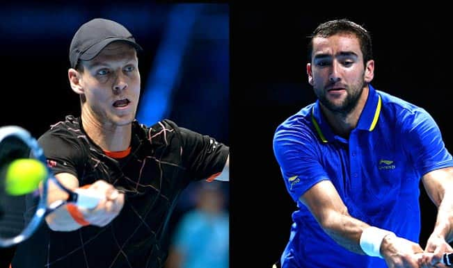 Tomas Berdych vs Marin Cilic Live Streaming: Get Live Telecast of ATP World Tour Finals 2014 on Day 4