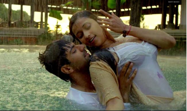 Mareez-E-Ishq from Zid: Karanvir Singh and Mannara's hot swimming pool romance (Video)