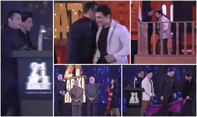 Shah Rukh, Salman, Aamir Khan with Narendra Modi and Pranab Mukherjee on 21 years of Rajat Sharma's Aap Ki Adalat: Full episode video