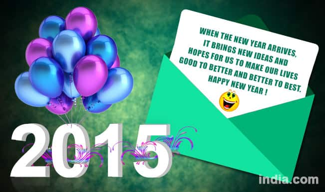 happy new year 2016 whatsapp message reads for new year
