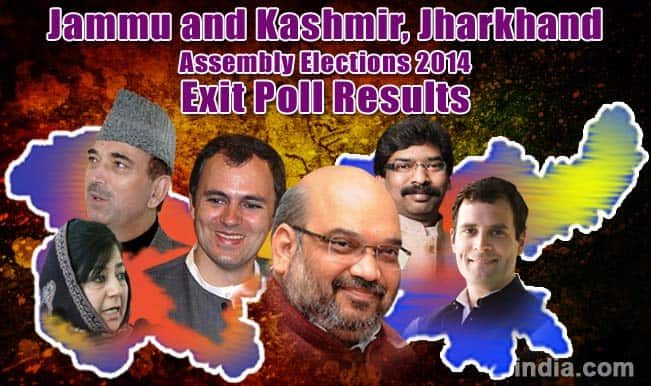 Jharkhand, Jammu and Kashmir 2014 Assembly Election Exit Poll Results: BJP likely to win Jharkhand, PDP emerges single largest party in J & K