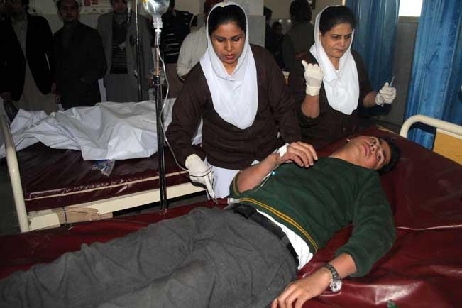 पेशावर हमला : अधिकतर लोगों को सिर में मारी गई गोली