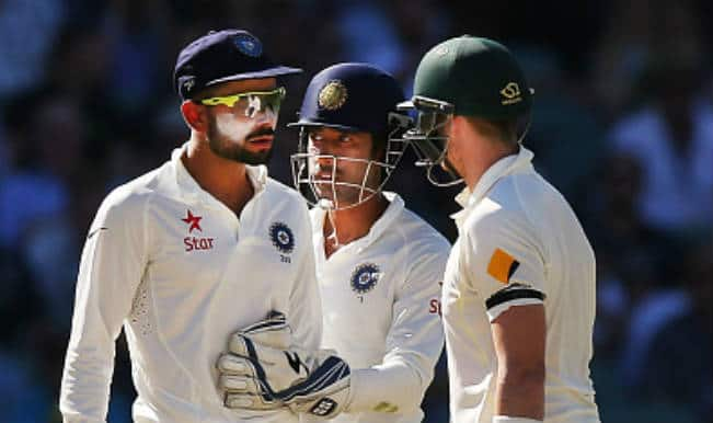 Virat Kohli tells Steve Smith 'to stay in his limits': Watch Video of hot-headed Indian Skipper losing his cool!
