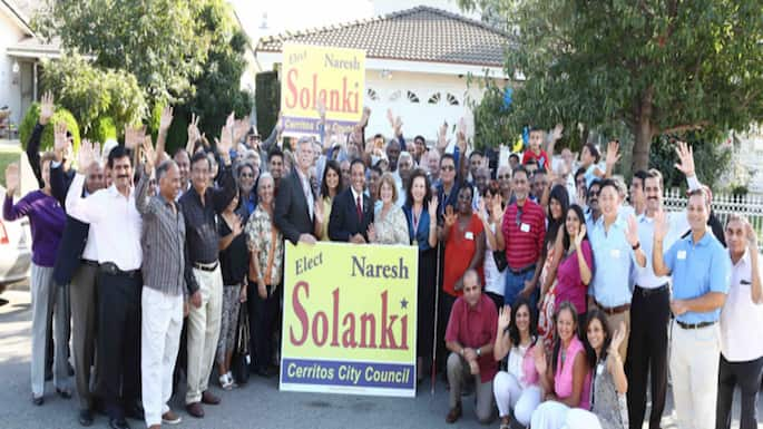 Naresh Solanki Runs for City Council in Cerritos, Calif.
