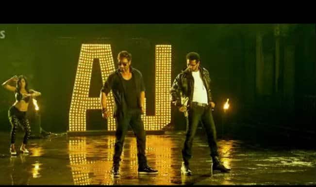 AJ Theme Song from Action Jackson: Ajay Devgn, Prabhudeva, Sonakshi Sinha dance like never before!