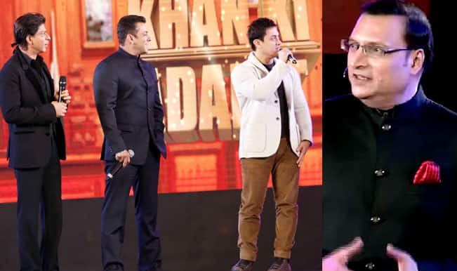 Aap Ki Adalat 21 year's celebration promo: Is Rajat Sharma scared of Shah Rukh Khan, Salman Khan and Aamir Khan?