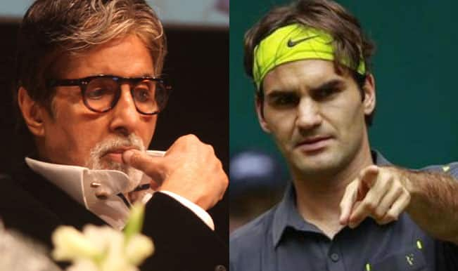 Roger Federer says 'I don't know Amitabh Bachchan'! Big B's Angry Young fans vent fury on Delhi streets
