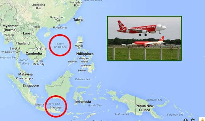 AirAsia flight QZ8501 goes missing: Bermuda Triangle in South Asian waters?
