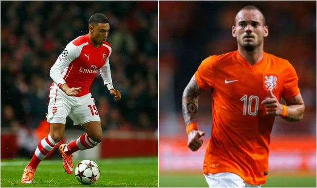 Alex Oxdale-Chamberlain aims to model game on Wesley Sneijder