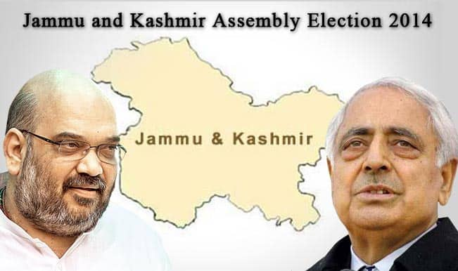 Jammu and Kashmir Assembly Election 2014: PDP leads in the state, BJP closely follows